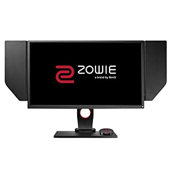 BenQ ZOWIE XL2536 144 Hz e-Sports Gaming Monitor with 1 ms, DyAc(tm) ,  Height Adjustable Stand, S Switch, Black eQualizer, Shield, 24 5 Inch, Dark