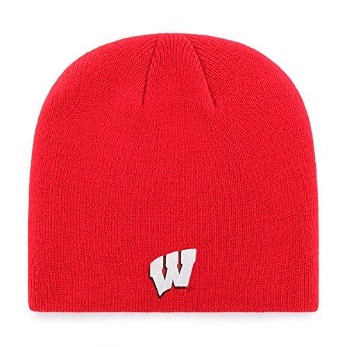 8f0eca0bc8a13 OTS NCAA Wisconsin Badgers Beanie Knit Cap