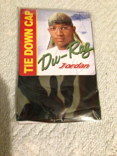 Du-Rag Tie down cap WOODLAND CAMO (Woodland Tie)