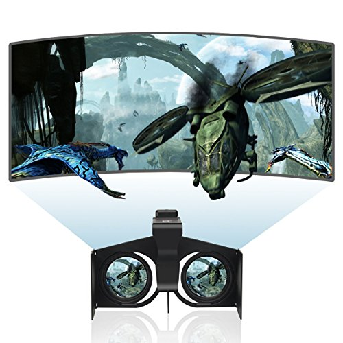 Mini 3D Virtual Reality VR Foldable Glasses For iphone samsung 4inch - 6 inch smartphone