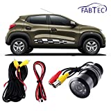 Fabtec Best Quality LED Night Vision Waterproof Car Rear View Reverse Parking Camera For Renault Kwid