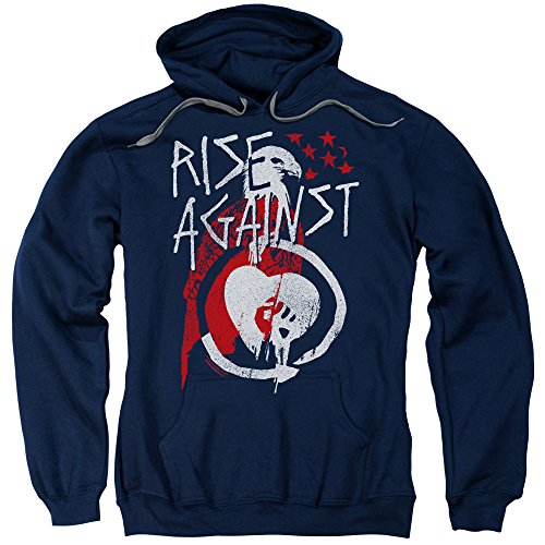 Rise Against - Eagle Adult Pull-Over Hoodie