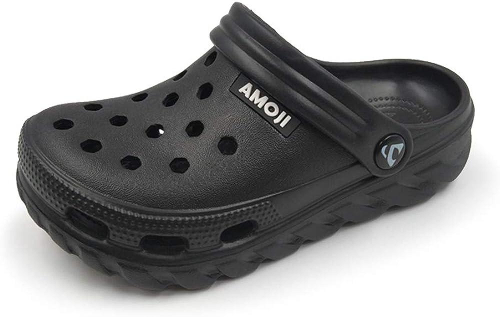 Amoji Kid Garden Clogs Slip On Shoes