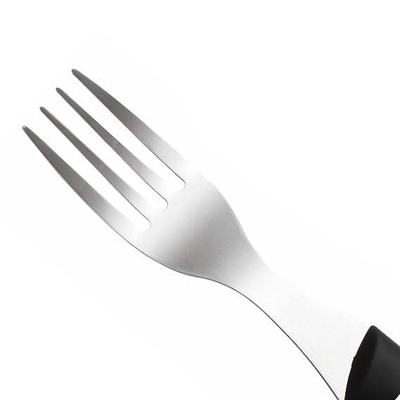 Bergner Q0949 Set de 12 de Cuchillos y Tenedores de Acero Inoxidable: Amazon.es: Hogar