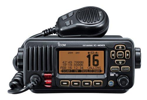 Icom M323 Marine Compact VHF/DSC - Black