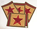 Country Star Placemat- Set of 4 by Park Designs