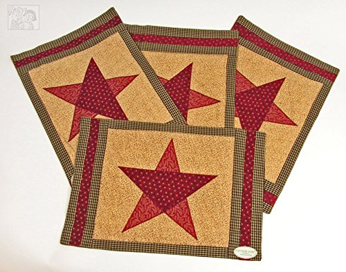 Country Star Placemat- Set of 4 by Park ()