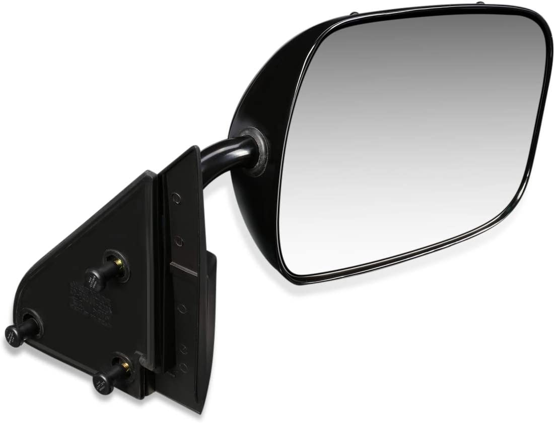DNA Motoring OEM-MR-GM1321177 Factory Style Manual Right Side Door Mirror