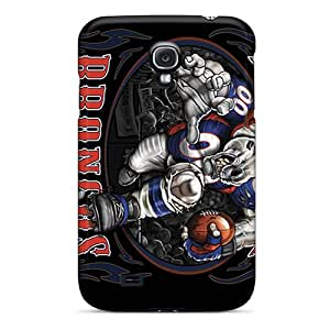 Scratch Resistant Hard Phone Cases For Samsung Galaxy S4 (MMh10467hnLi) Customized Nice Denver Broncos Pictures