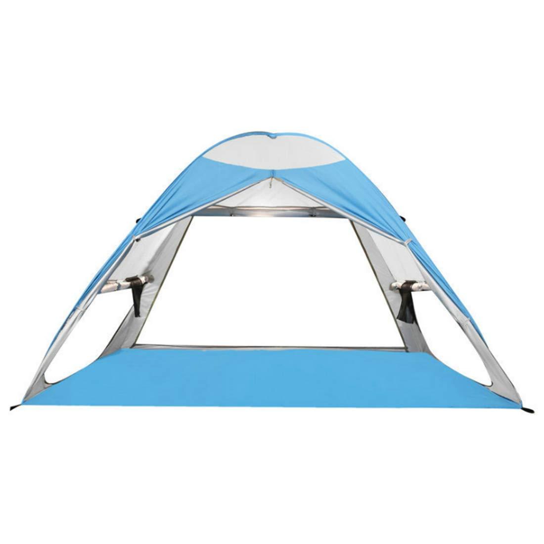 Ploekgda 3-Personen- oder 2-Personen-Outdoor-Zelt für Wild-Camping (Farbe : Weiß)