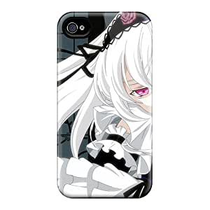 New Fashionable JD-shop Azb3354SuEk Cover Case Specially Made For Iphone 4/4s(rozen Maiden Manga Vi)