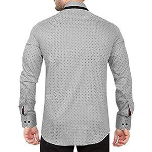 GLOBALRANG Men's Slim Fit Casual Shirt
