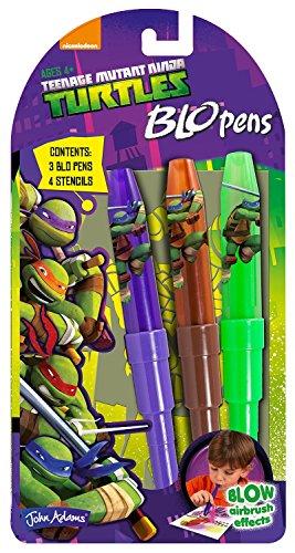 Mini Pack Teenage Mutant Ninja Turtles Blow Blo Pens Ages (Tmnt Splinter Halloween Costume)