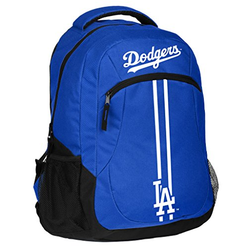 FOCO Los Angeles Dodgers Action Backpack School Gym Bag ()