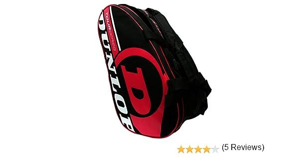 Paletero de pádel Dunlop Tour Intro Negro / Rojo: Amazon.es: Deportes y aire libre