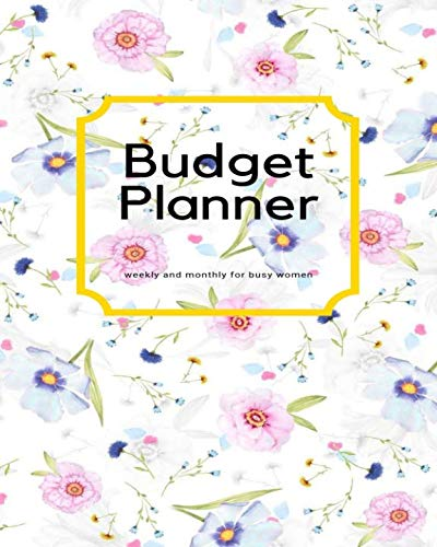 budget planner weekly monthly busy women tracker bill organi