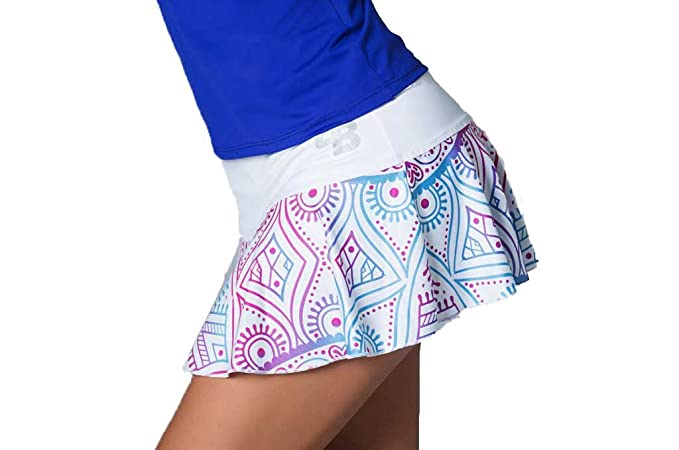 Desconocido Falda TRIVAL Chica para Tenis Y Padel - L: Amazon.es ...
