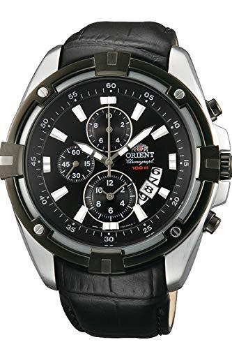 Reloj Orient Cuarzo Caballero FTT0Y006B0 Deportivo Cronógrafo: Amazon.es: Relojes