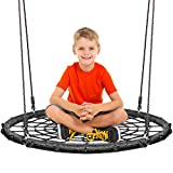 KHOMO GEAR Extra Large 40 Inches Diameter Swing & Spin Set - Complete Set - Includes Tree Swing Hanging Kit