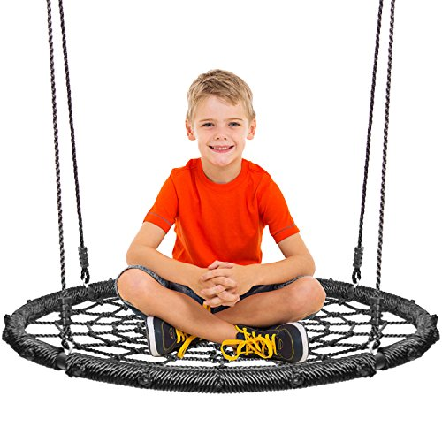 Price comparison product image KHOMO GEAR - Extra Large 40 Inches Diameter Swing & Spin Set - Complete Set - Includes Tree Swing Hanging Kit