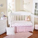 EVERYDAY KIDS 2 Pack Crib Sheet Set, 100% Cotton