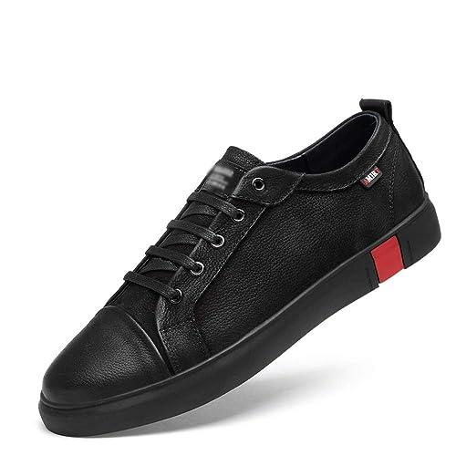 HPLL Zapato Calzado para Hombres, Calzado Deportivo Casual, Zapatillas Deportivas Negras, otoño e Invierno Impermeable al Aire Libre, tamaño pequeño 36-46: ...