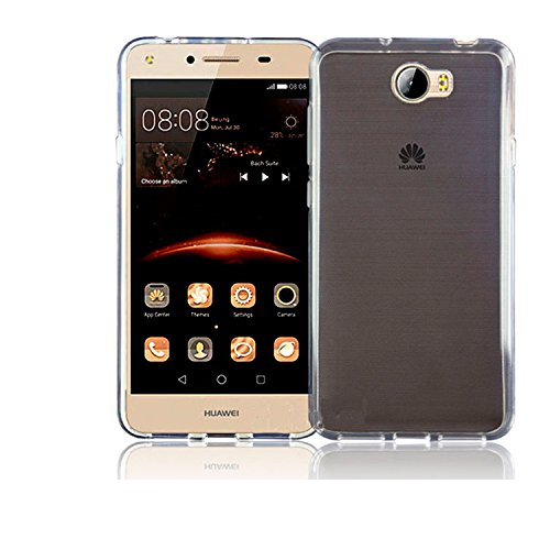 TBOC® Funda de Gel TPU Transparente para Huawei Y6 II Compact - Y6II Compact - Y6 2 Compact (5.0 Pulgadas) de Silicona Ultrafina y Flexible [No es ...