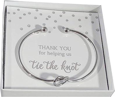 Bridesmaid Makeup bag Thank you for being my Bridesmaid Thank you for helping me tie the knot Thank you Bridesmaid Gift