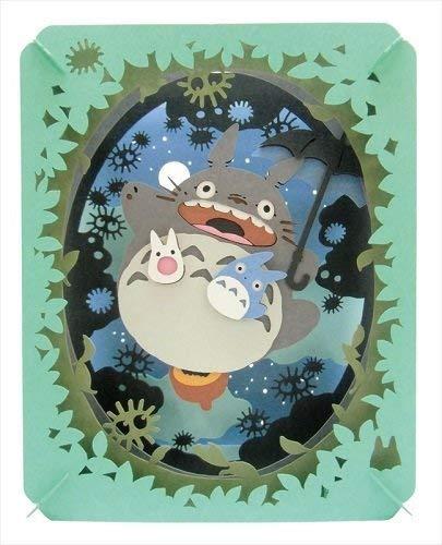 Ensky Studio Ghibli Film My Neighbor Totgold Papier Theater (leuchtenden Mond, Sky) pt048