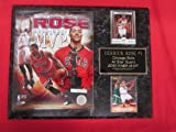 Derrick Rose Bulls 2012 MVP 2 Card Collector Plaque