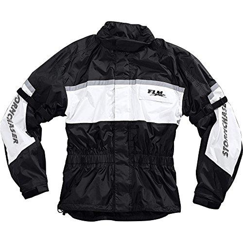 FLM Sports Membran Regenjacke 1.0 weiß L