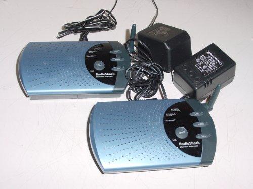 Radio Shack 4 Channel Wireless FM Intercom System 900 MHz Model 43-124