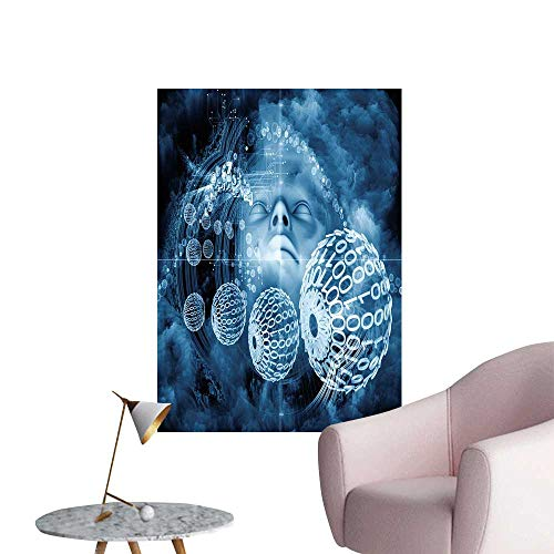 """SeptSonne Wall Decorative beyon hu Series Composition hu Natural Forms Pictures Wall Art Painting,28"""" W x 48"""" L"""