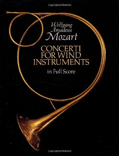 - Concerti for Wind Instruments in Full Score (Dover Music Scores)
