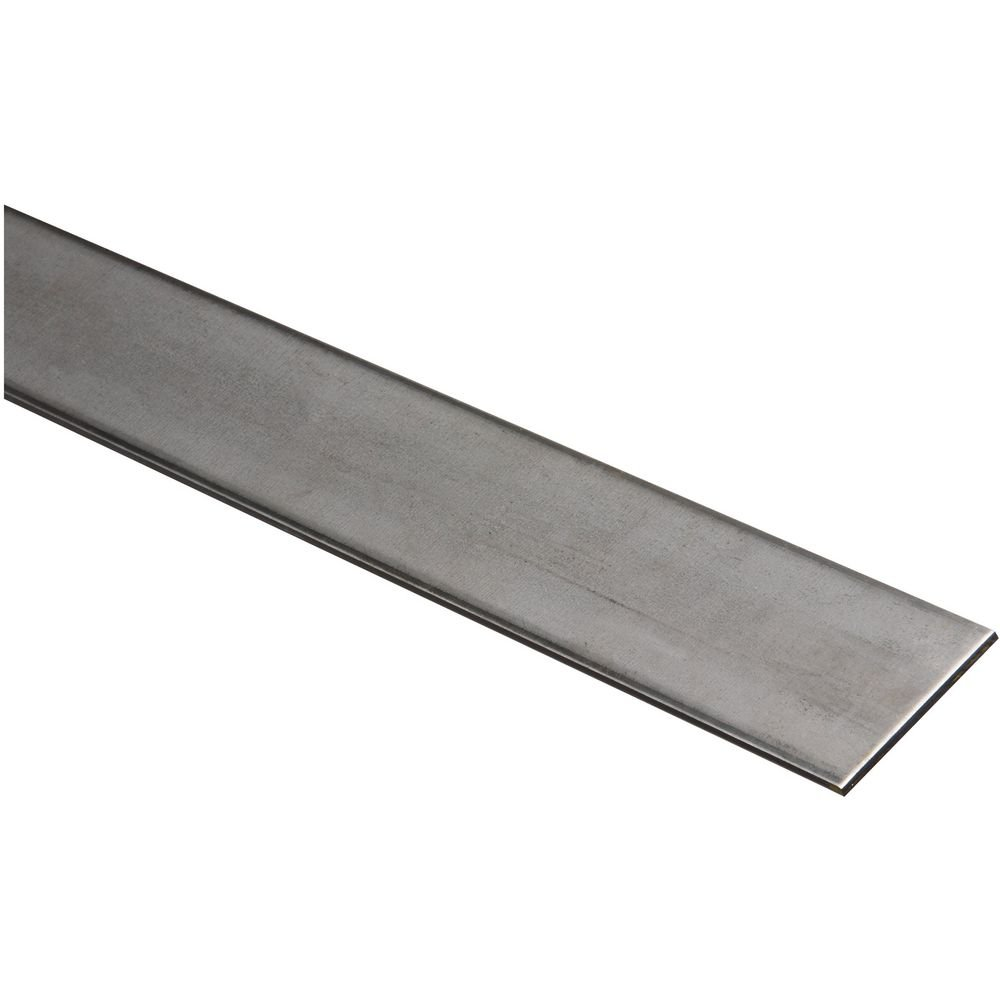National Hardware N341 438 4062BC Solid Flat in Plain Steel