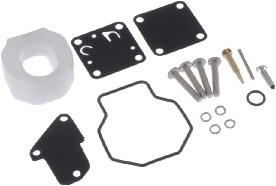 Carb Rebuild Tool Gasket Set for Yamaha 4HP 5HP Outboard Motors Carburetor Repair Kit OEM