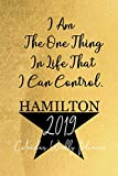 Hamilton Calendar 2019: 52 Week Journal Calendar