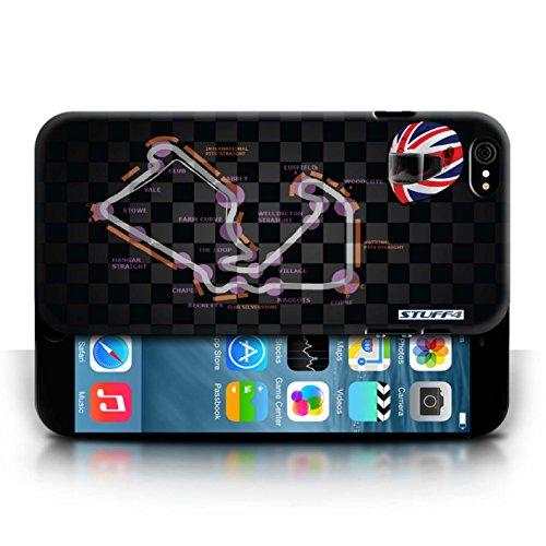 Etui / Coque pour Apple iPhone 6/6S / UK/Silverstone conception / Collection de 2014 F1 Piste