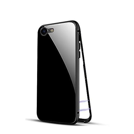 Funda iPhone 6, XiaoXiMi Carcasa Trasera de Vidrio Templado ...