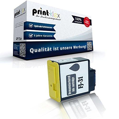 kompatible XL Tintenpatrone für Olivetti FaxLAB Fax-Lab 100 105 105 F 115 120 125 128 145 D 220 270 270 Series 275 300 FJ31 Black Schwarz BK K - Print Line Serie