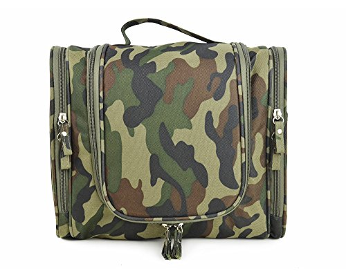 AoMagic WaterResistant Portable Man Travel Toiletry Bags Customized Travel Women Storage Makeup Bag Z (Camo Makeup Ideas)