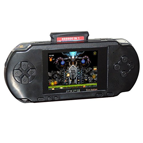 Phantomx Handheld PXP3 16 Bit Portable Game Console Retro Video 150+ Games Gift - Preschooler Shelf Storage