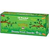 Annie's Organic Bunny Fruit Snacks, Berry Patch, 18 Pouches, 0.8 oz
