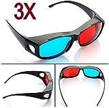 Big Bargain 3 Red Blue Cyan NVIDIA 3D VISION Myopia General Glasses