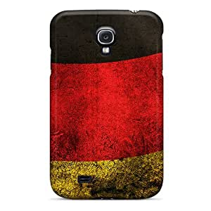 Galaxy S4 Case Slim [ultra Fit] Germany Flag Protective Case Cover