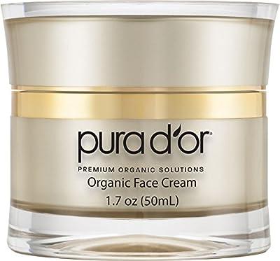 PURA D'OR Anti-Aging Premium Organic Argan Oil Day & Night Face Cream, 1.7 Ounce