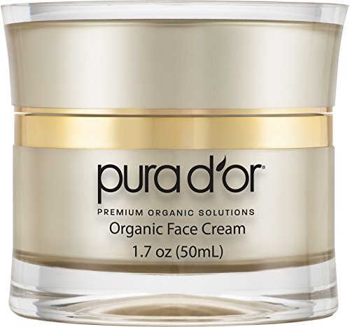 PURA D'OR Anti-Aging Premium Organic Argan Oil Day & Night Face Cream, 1.7 Ounce