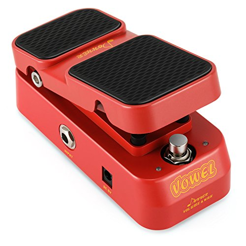 (Donner 2 in 1 Vowel Mini Active Wah Volume Effect Guitar Pedal)