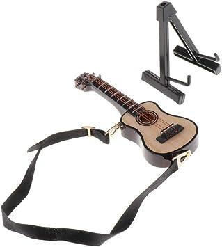 Amazon.es: Escala 1:12 Guitarra Acústica Instrumentos Musicales ...