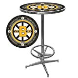 NHL Boston Bruins Chrome Pub Table Review